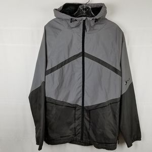 Imperial Motion reflective jacket green/gray M